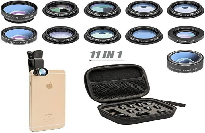 11-in-1 Cell Phone Camera Lens Kit