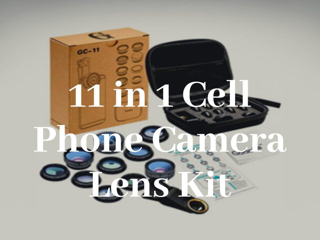 11 in 1 Cell Phone Camera Lens Kit