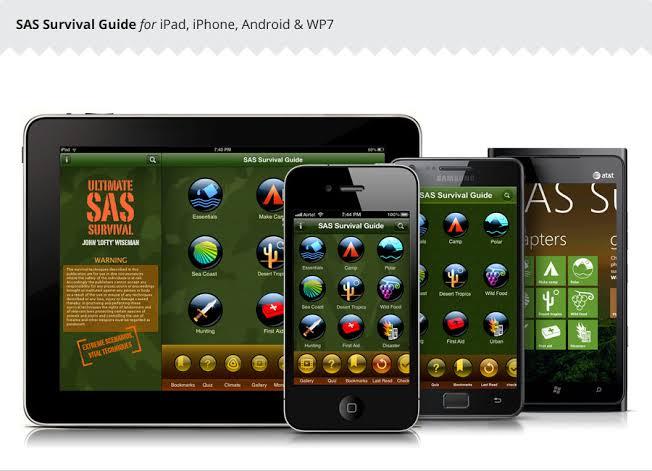 SAS Survival Guide App
